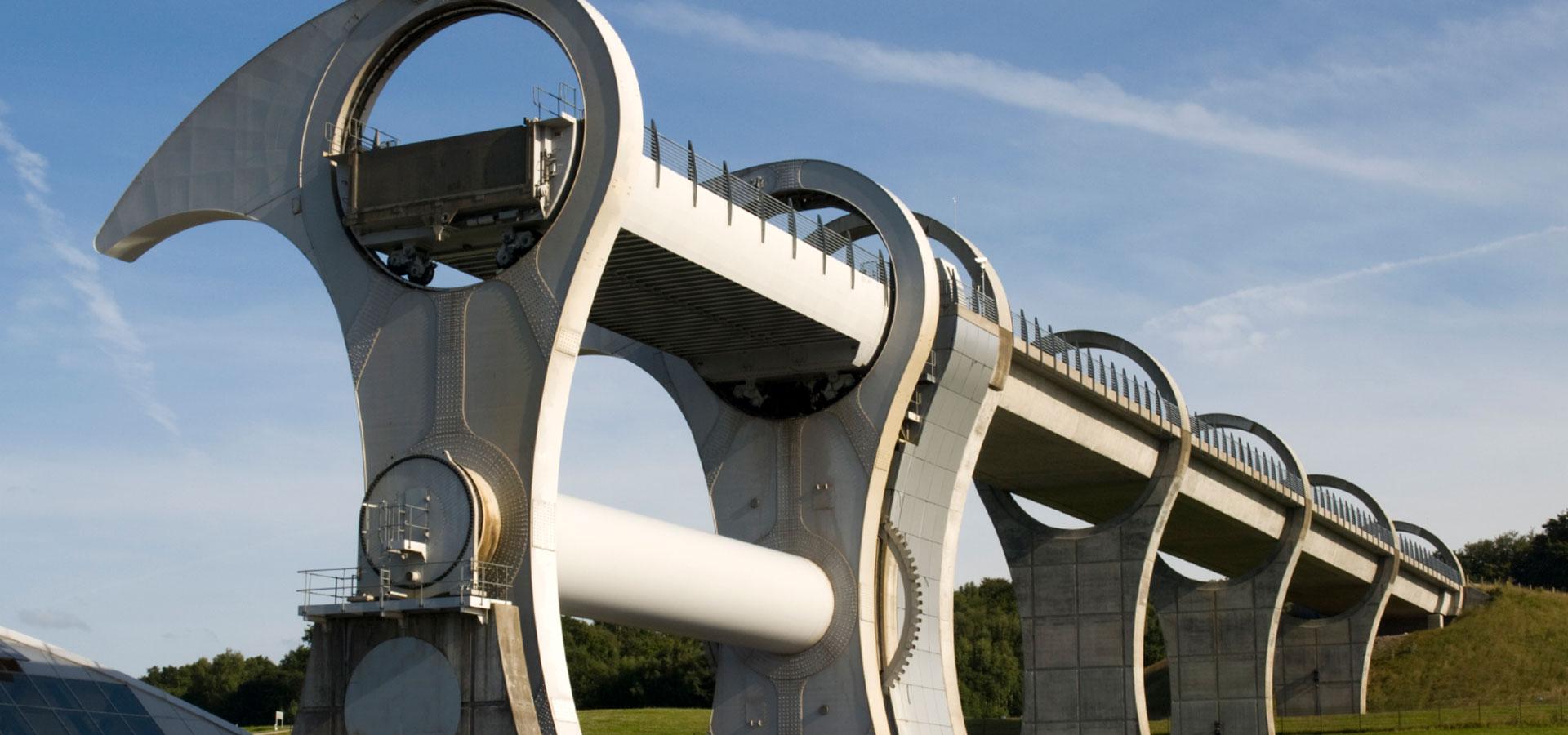 Keeping The Falkirk Wheel Turning Denley Hydraulic Cylinders