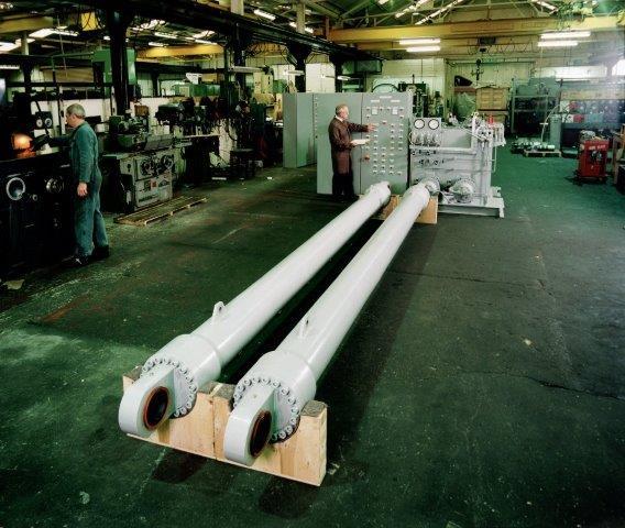 Nuclear hydraulic Cylinders & actuators - Denleys hydraulic